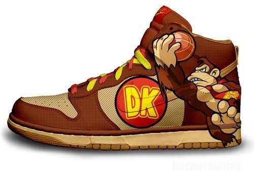 27 Examples of Nerdy Gamer Footwear