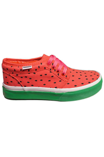 Fresh Fruit-Inspired Footwear