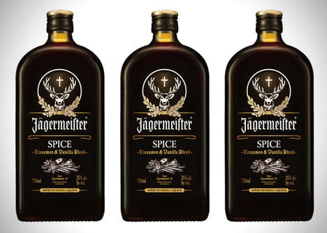 Spicy Holiday-Themed Drinks - Jagermeister Spice Fuses Cinnamon with Vanilla