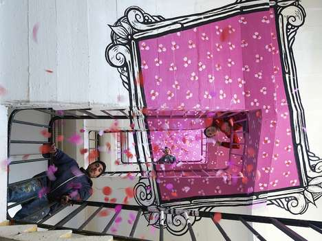 Whimsical Anamorphic Photo Frames