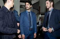 Luxe Business Apparel - The Hermes Spring Menswear Collection is Designed for Urban Professionals