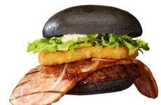 Black Ninja-Inspired Burgers - The Burger King Black Ninja Burger is a Japan Exclusive