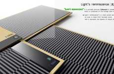 Solar External Hard Drives - Light's Reminiscence is a Rare Eco-Friendly Electronic Device