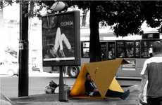 Cardboard Homeless Shelters - Urbankit is a Low-Cost Refuge to Remedy Immediate Needs of the Needy