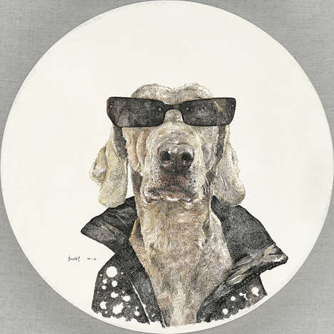 Personified Canine Portraits