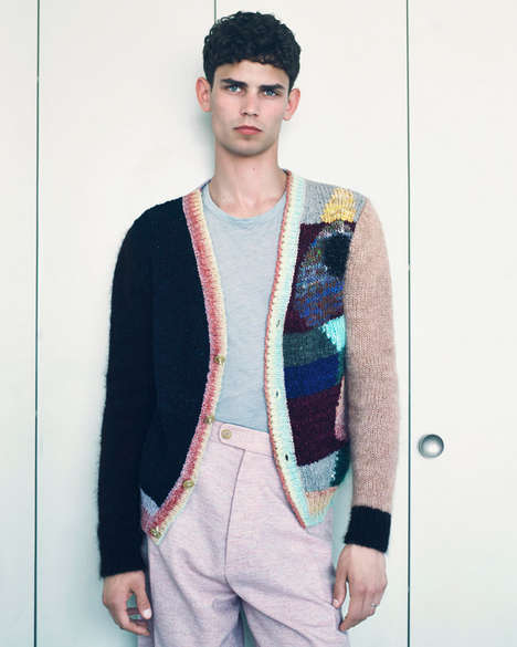 Eclectic Knitwear Editorials