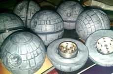 Sci-Fi Spice Shredders - The Death Star Herb Grinder Destroys Planets and Herbs
