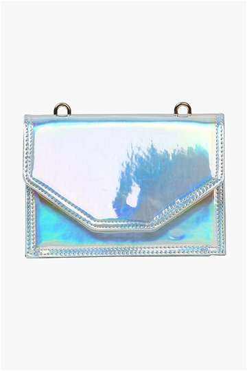 Chic Holographic Satchels