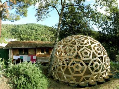 Geometric Igloo Abodes