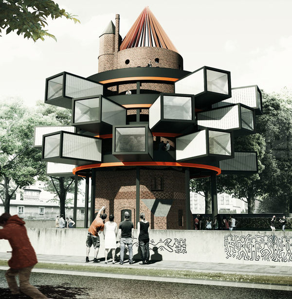 72 Protruding Architectural Structures