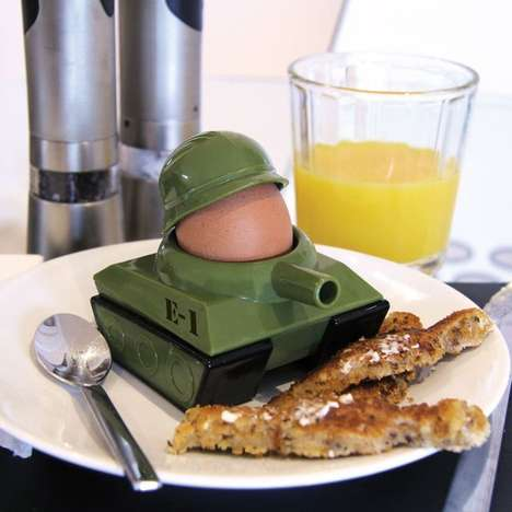 Army Tank Egg Cups