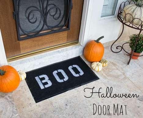 Spooky DIY Doormats