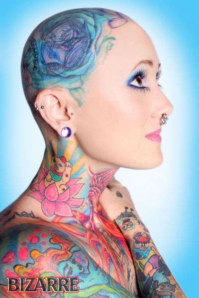 From Pin-Up Princess Tattoos to Vividly Inked Editorials