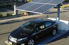 Solar-Powered Parking Spots