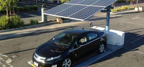 Solar-Powered Parking Spots