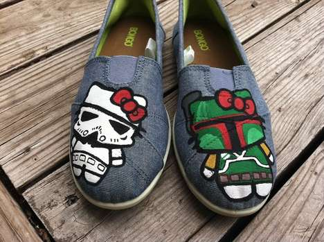 Sci-Fi Kitty Slippers