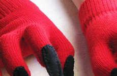 Devilish Costume Gloves