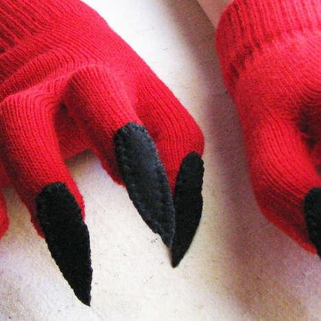 Devilish Costume Gloves