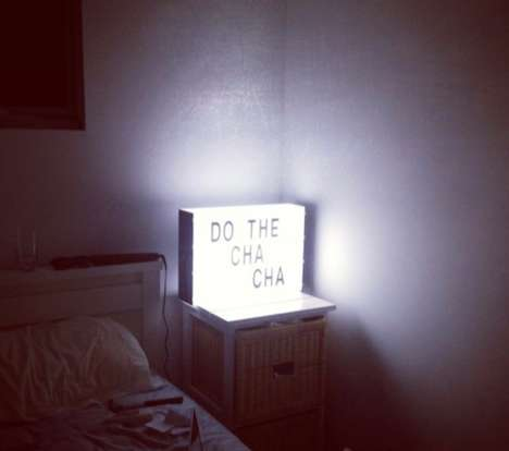 Customizable Message Lamps