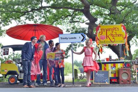 Tweet-Fueled Rickshaw Rides - Trinity Kitchen Launched Tweet to Pay Rickshaw to Its New Location