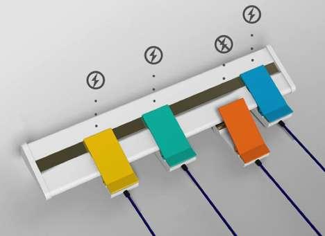 Easy-Fastening Power Bars