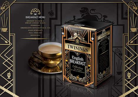 30s-Inspired Tea Packaging