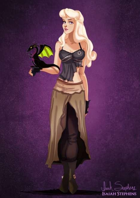 Pop Culture Costumed Princesses