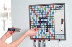 Versatile Message Board Games - The Scrabble Message Board is an Alternative to Family Game Night