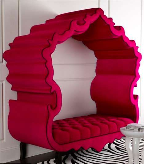Crown-Shaped Princess Seating