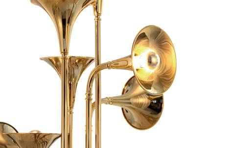 Harmonious Trumpeting Fixtures