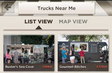 Food Truck Locating Apps - The Toronto Food Trucks App Locates Nearby Eats