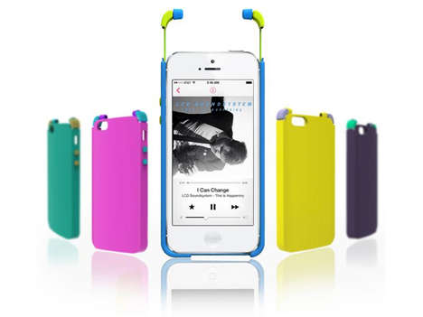 Built-In Earbud Covers