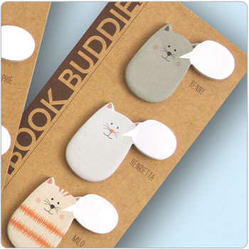 Keep Track of Your Thoughts with the Book Buddies Sticky Notes
