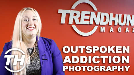Outspoken Addiction Photography - 'Faces of Addiction' Takes a Deeper Look at the People
