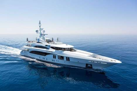 Earth-Saving Luxury Yachts - The Ocean Paradise Yacht is Award-Winning for Its Sustainability
