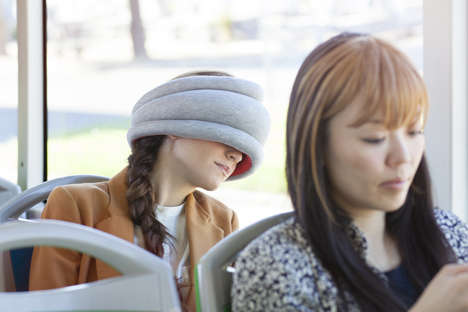 Downsized Sleeping Scarves - The Ostrich Pillow Light Lets You Nap in Public Without Looking Silly