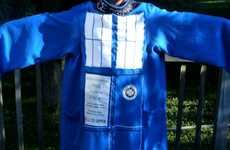 Sci-Fi Sleeping Sheaths - The TARDIS Snuggie Keeps 'Doctor Who' Fans Warm Through Space and Time