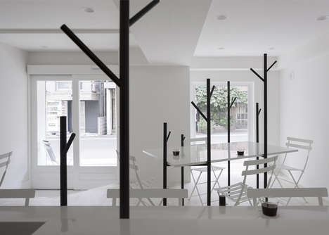 Contemporary Treed Cafes