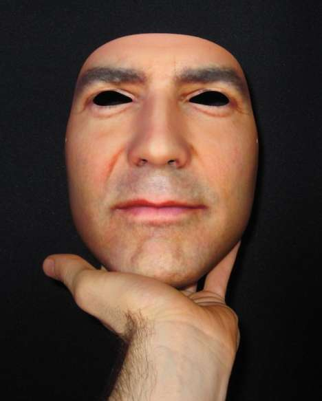 Replicated Human Face Masks - The 'Custom Wearable Mask' Can be Created to Resemble Anyone You Like