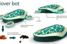 Hi-Tech Tortoise Hoovers - The Electrolux Hover Bot Cleans Every Surface of Your Home Automatically