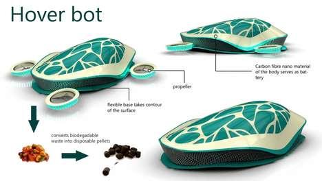 Hi-Tech Tortoise Hoovers
