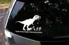 Hilarious Mocking Car Stickers