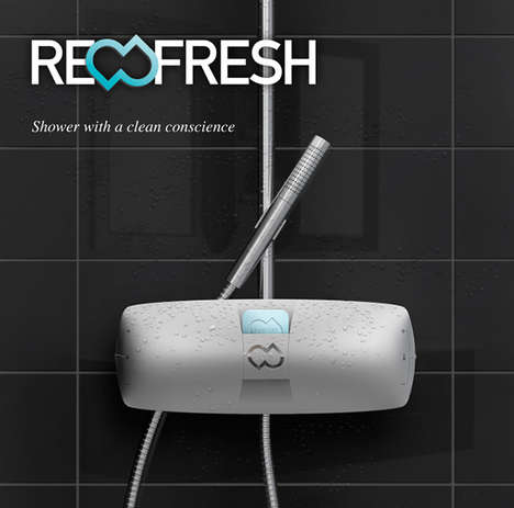 Recirculating Eco Faucets - The ReFresh Shower System Cuts Consumption and Guarantees Cleanliness