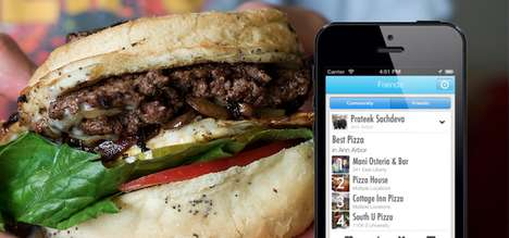 Simplified Food-Finding Apps - The myfab5 App Cuts Through to Find a Good Restaurant Easier