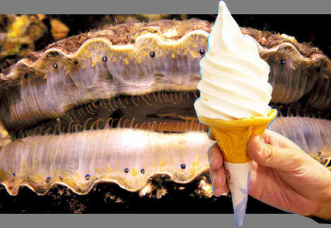 Seafood-Flavored Ice Creams - This Strange Ice Cream Tastes Like Scallops