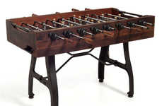 Historically Significant Game Tables - The Post Foosball Table is Made from Old Vietnamese Buildings