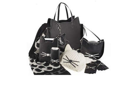 Achromatic Feline Accessories