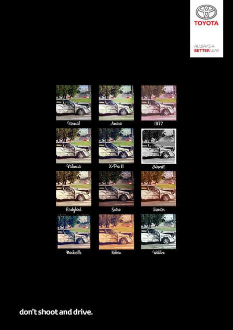 Insta-Wreckage Auto Ads