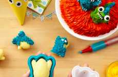 3D Baking Monster Shapes - Make Fun and Tasty Treats with 3D Cake Molds