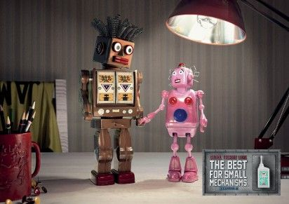 23 Clever Robot Ads